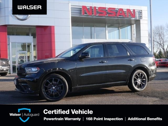 Pre-Owned 2016 Dodge Durango R/T AWD HTD LTHR MOON NAV 2ND ROW CAPTAINS