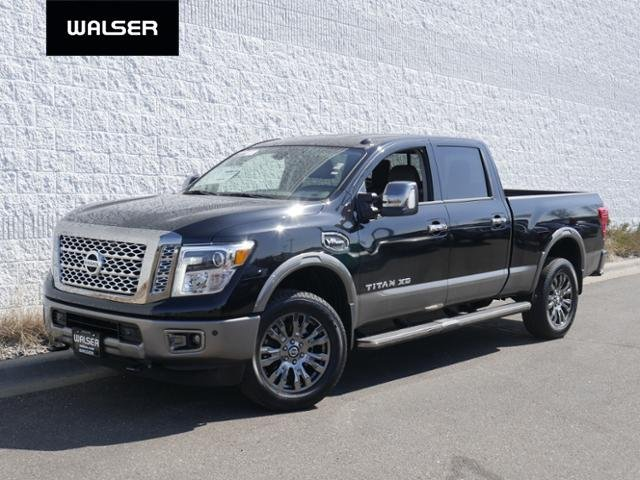 New Nissan Titan >> New 2019 Nissan Titan Xd V8g 4x4 Platinum With Navigation 4wd