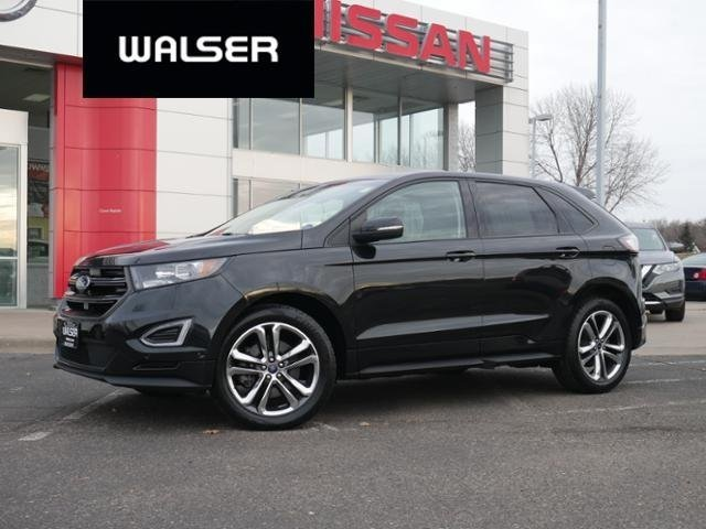Pre-Owned 2015 Ford Edge SPORT AWD 20 WHEELS HTD/COOLED LTHR NAV PANO MOON