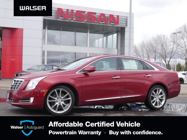 Pre-Owned 2014 Cadillac XTS PREMIUM PANO MOON HTD LTHR CLEAN!
