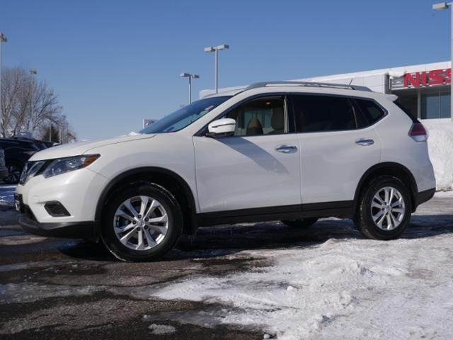 Certified Pre-Owned 2016 Nissan Rogue SV AWD *CERTIFIED* PREM MOON NAV HTD STS BLIND SPT