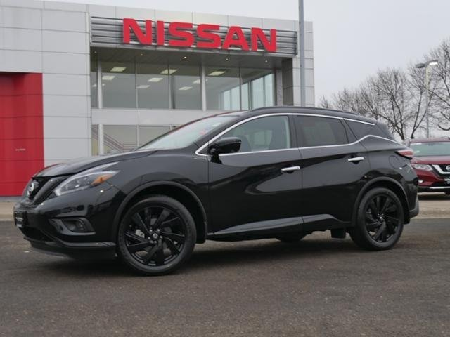 Certified Pre-Owned 2018 Nissan Murano SL AWD *CERTIFIED* MIDNIGHT HTD LEATHER NAV BOSE