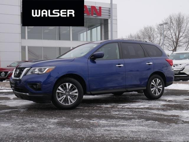 Certified Pre-Owned 2018 Nissan Pathfinder SV 4WD *CERTIFIED* RMT STRT PUSH BUTTON 3rd ROW