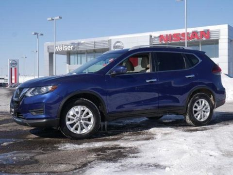 Certified Pre-Owned 2018 Nissan Rogue SV AWD *CERTIFIED* HTD STS RMT STRT APPLE CAR PLAY