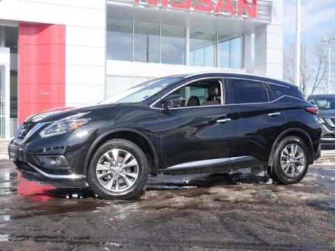 Certified Pre-Owned 2018 Nissan Murano SL AWD *CERTIFIED* MOON HTD LTHR RADAR CRUISE