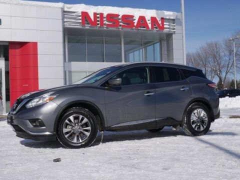 Certified Pre-Owned 2017 Nissan Murano SL AWD TECH PANO MOON NAV HTD LTHR RADAR CRUISE